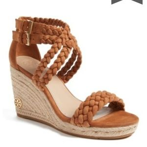 Tory burch bailey wedges